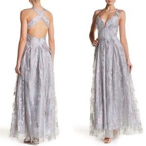 Marina Glitter Prom Ball Gown